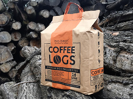 Bag of Coffee Logs from Holts Logs