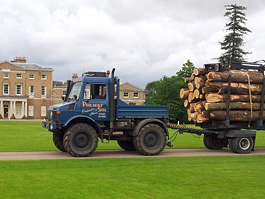 Sourcing timber from estates across Hertfordshire
