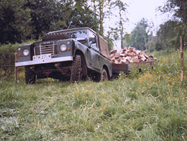Phil Holt Land Rover 1976