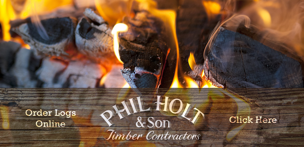 Buy Logs Online with Phil Holt and Son, Hertfordshire